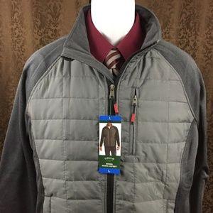 New Orvis Media Jacket Large Gray Lightweight
